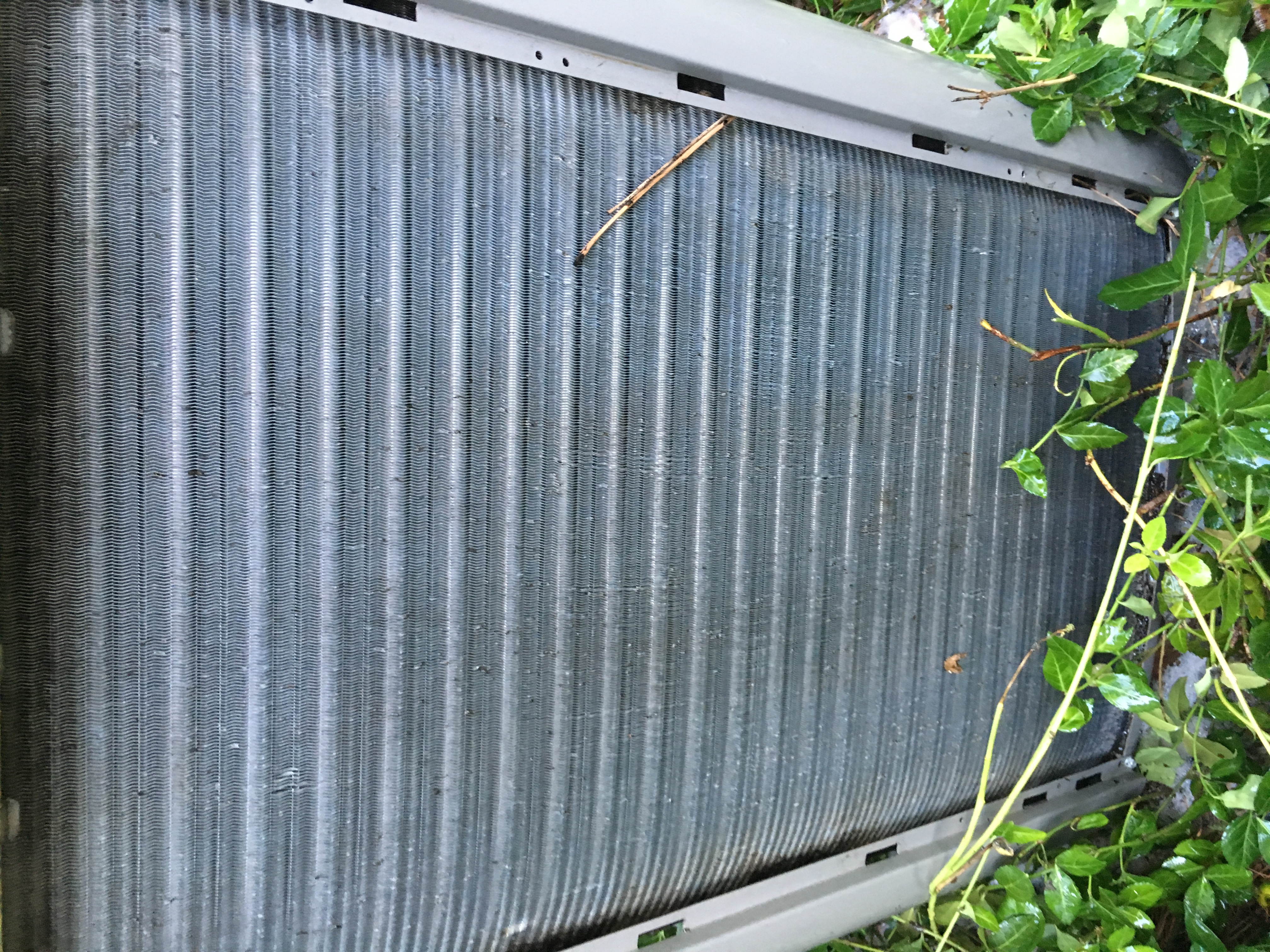 air conditioner filter clean